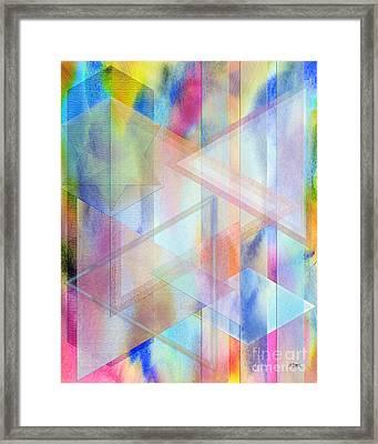 Pastoral Moment Framed Print by John Beck