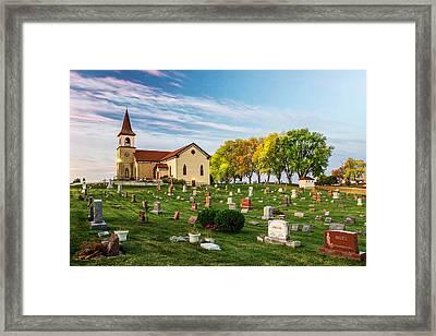 Pastoral Morn Framed Print by Todd Klassy