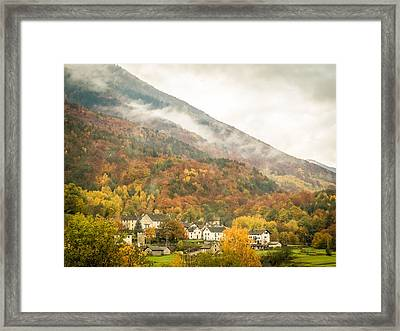 Pastoral Village Framed Print