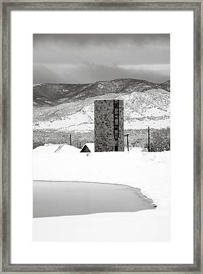 Pastoral Winter Framed Print by Marilyn Hunt