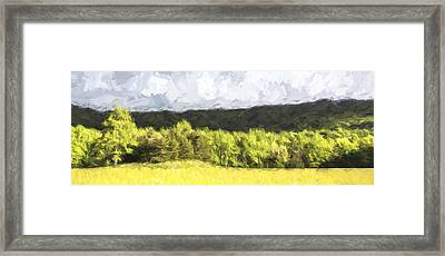 Pastural Grounds II Framed Print by Jon Glaser