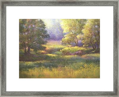 Pasture Grove Framed Print