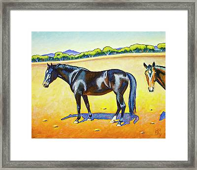 Pasture Pals 2 Framed Print