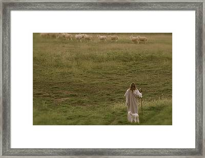 Pastures Framed Print by Vienne Rea