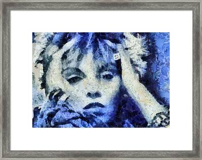 Pat Benetar Framed Print