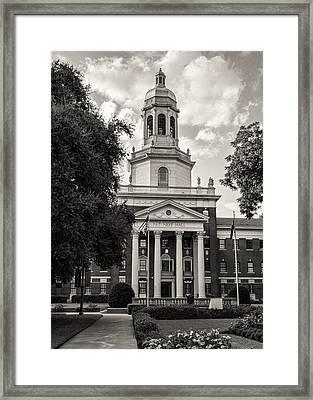 Pat Neff Hall - Baylor #5 Framed Print by Stephen Stookey