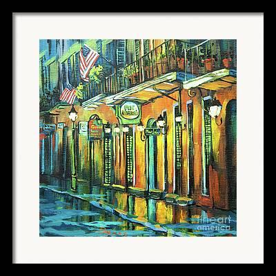 New Orleans Oil Paintings Framed Prints