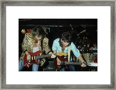 Pat Travers Band Framed Print by Rich Fuscia