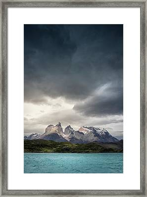 Patagonia Storm Framed Print by Daniel Cooley