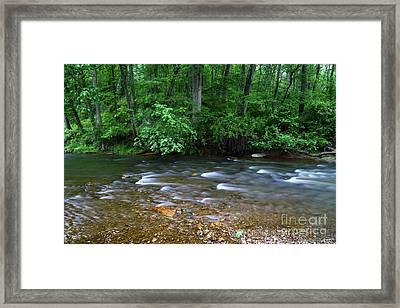 Patapsco River Murmurings Maryland Framed Print