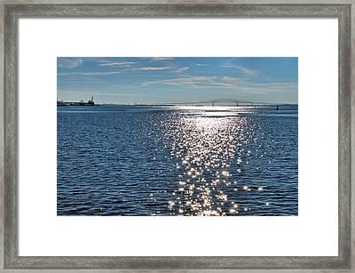 Patapsco River  Framed Print