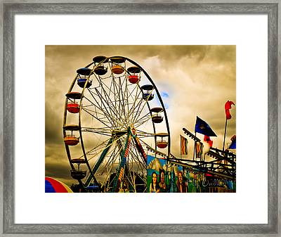 Patch Of Blue Framed Print by Bob Orsillo