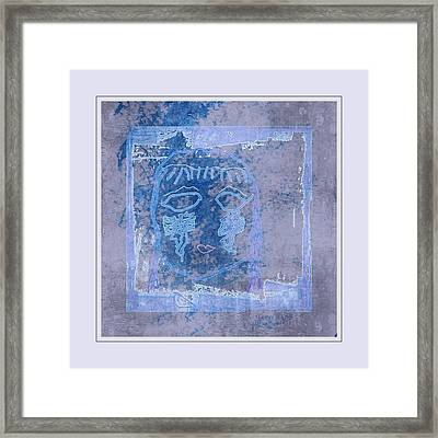 Patches Of Tears For The Earth Framed Print
