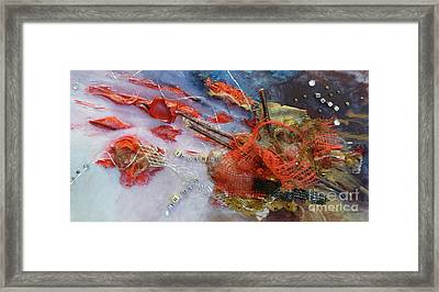 Framed Print featuring the painting Patches by Terri Thompson