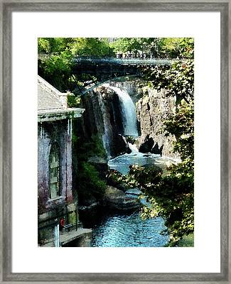 Paterson Falls Framed Print by Susan Savad
