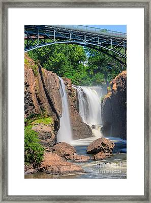 Paterson Great Falls I Framed Print by Clarence Holmes