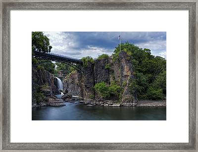 Paterson Great Falls Framed Print by Susan Candelario