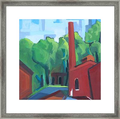 Paterson Mill Framed Print