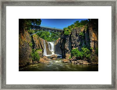 Paterson's Great Falls I Framed Print by David Hahn