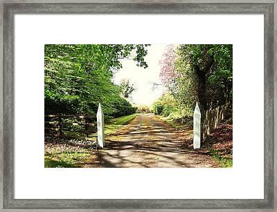 Path Ahead Framed Print by HweeYen Ong