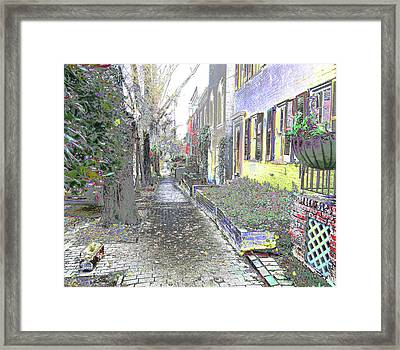 Path Beyond Framed Print