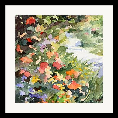 Giverny Paintings Framed Prints