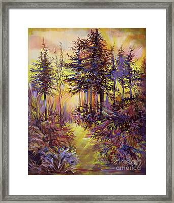 Path Of Illusions Framed Print