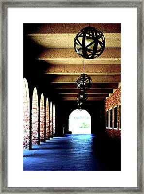 Path Of Knowledge Framed Print by Rachel Mahoney