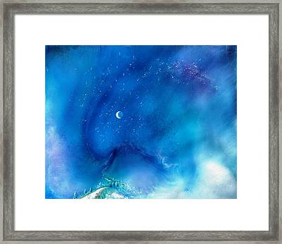Path Of The Morning Star Framed Print by Lee Pantas
