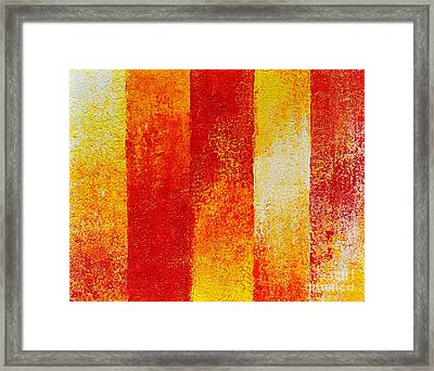 Path Framed Print by Teresa Wegrzyn