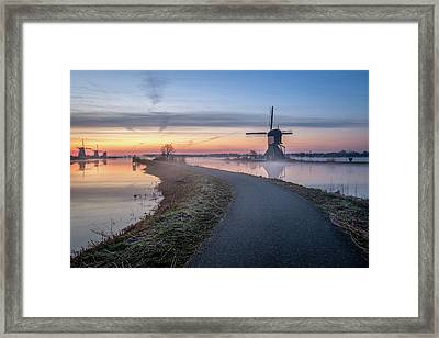 Path Through Windmill City Framed Print