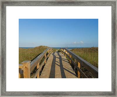 Path To Happiness Framed Print
