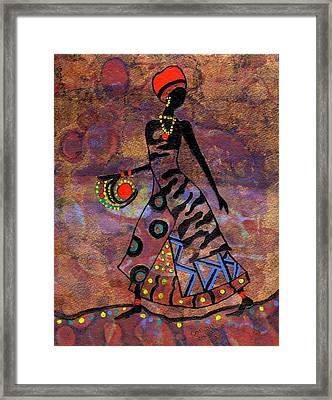Path To Healing        Framed Print
