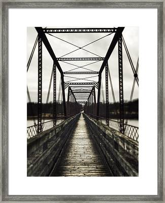 Path To Nowhere Framed Print