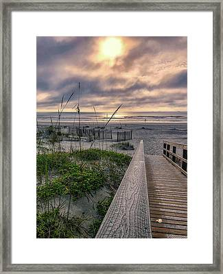 Path To Serenity Framed Print