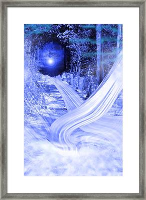 Path To The Good Old Days Framed Print