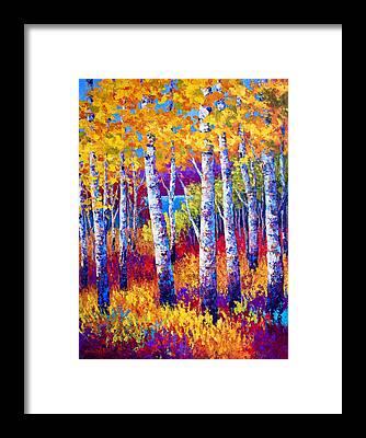 Poplar Framed Prints