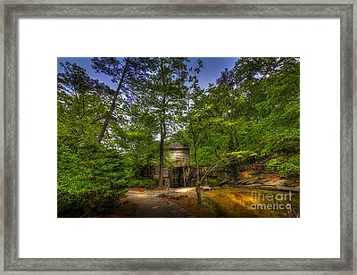 Path To The Mill Framed Print
