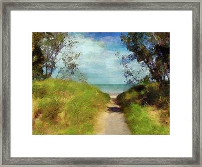Path To Whihala Beach 2 - Limited Edition Framed Print