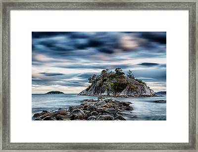 Path To Whyte Island Framed Print