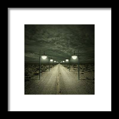 Dark Framed Prints