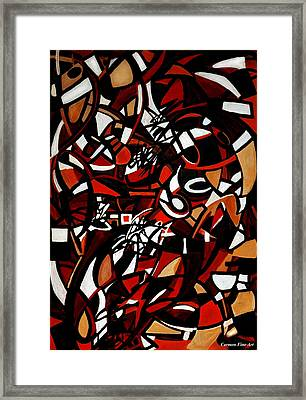 Pathological Space Framed Print