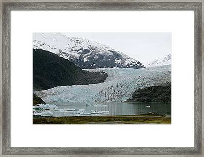 Pathway To An Icy Wonderland Framed Print