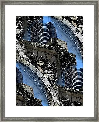 Pathway To Present Framed Print