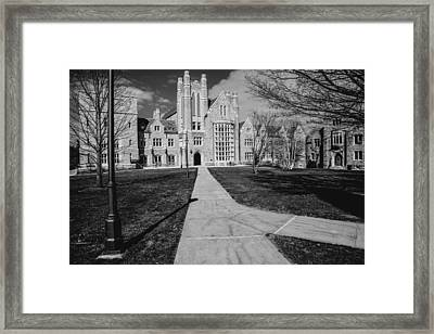 Pathway To The Law Framed Print by Karol Livote