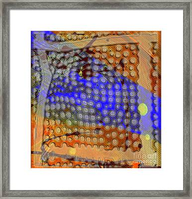 Pathways Framed Print by Angela L Walker