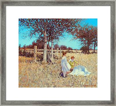 Patience And Promise Framed Print by Kevin Lawrence Leveque