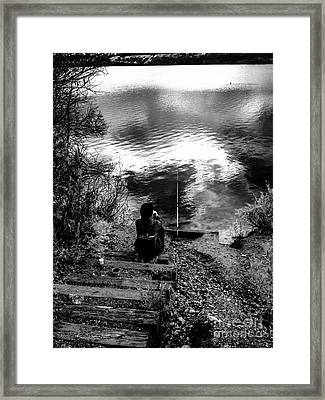 Patience At Dawn Framed Print