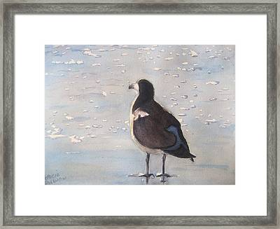 Patience Framed Print by Patricia Pushaw