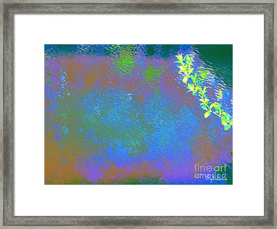 Patient Earth Framed Print